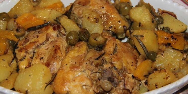 sovrecosce_di_pollo_con_peperoni_e_patate