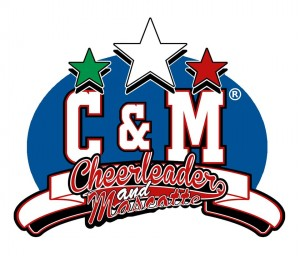 logo cheerleaders e mascotte