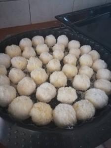 palline di cocco