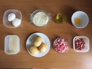 Ingredienti torta di patate